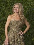 Kelli OHara komt bij 2015 Tony Awards aan Stock Foto's
