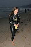 Kelli Williams. At the 19th Annual Nautica Malibu Triathlon. Malibu Beach, Malibu, CA. 09-25-05 Royalty Free Stock Photography