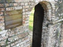 Kellie的城堡的拘留所 免版税库存照片