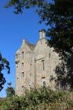 Kellie Castle nära Arncroach, östliga Neuk, pickolaflöjt Royaltyfria Foton
