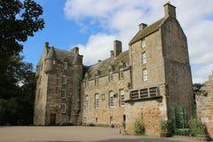 Kellie Castle nära Arncroach, östliga Neuk, pickolaflöjt Arkivbilder