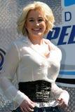 Kellie Pickler attends NASCAR race stock photo