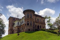 Kellie`s Castle in Batu Gajah Perak. One of the tourist attractions location in Malaysia Royalty Free Stock Photography
