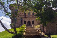 Kellie`s Castle in Batu Gajah Perak. One of the tourist attractions location in Malaysia Stock Photography