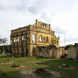 Kellie's Castle. An unfinished house of english man in Malaysia.. this house build during colonial time..unfotunately it not finished. Now it became a one of stock image