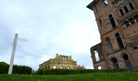 Kellie`s Castle view from entrance Royalty Free Stock Photo