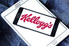 Kellogg`s food company logo Stock Photos