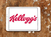 Kellogg`s food company logo Royalty Free Stock Photo
