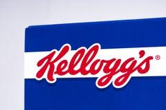 Kelloggs gatunku logo Obrazy Royalty Free