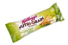 Kelloggs Nutri Grain Breakfast Bar Stock Images