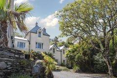Kells Bay Gardens house Royalty Free Stock Photography