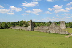 Kells Priory Thomastown Kilkenny Ireland. Sunny day blue skies Royalty Free Stock Photo