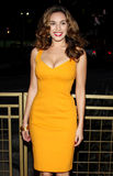 Kelly Brook. Attends the LG Electronics` LG Launch of the `Scarlet` HDTV Series held at the Pacific Design Center in West Hollywood, California, United States Royalty Free Stock Photography