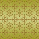 Kelly, chaux et Olive Ornamental Swirl Background Image stock