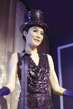 Kelly chen wax figure royalty free stock photo