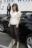Kelly Clarkson at Galpin Ford. In Los Angeles announcing her partnership with Ford and her summer tour Stock Photo
