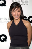 "Kelly Hu. 16FEB2000: ""Marshall Law"" star KELLY HU at party in Los Angeles to unveil GQ Magazine's ""Leading Men of Hollywood"" March issue. The party was in aid of Royalty Free Stock Images"