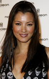 Kelly Hu. Attends the Napoleon Perdis Hollywood Store Unveiling held at the Napoleon Perdis in Hollywood, California on May 1, 2007 Royalty Free Stock Photos