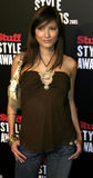 Kelly Hu. Attends the 2005 Stuff Style Awards held at the Roosevelt Hotel in Hollywood, California on September 7, 2005 Royalty Free Stock Photos