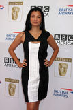 Kelly Hu. LOS ANGELES - AUG 27:  Kelly Hu arrives at the 2010 BAFTA Emmy Tea at Century Plaza Hotel on August 27, 2010 in Century City, CA Royalty Free Stock Photos
