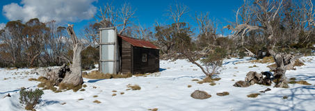 Kelly Hut. On the Bogong High Plains Royalty Free Stock Photography