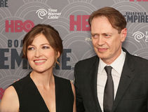 Kelly Macdonald and Steve Buscemi Royalty Free Stock Photos