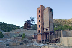 Kelly Mine 2. What's left of the Kelly Mine Stock Photos