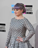 Kelly Osbourne. LOS ANGELES, CA - NOVEMBER 24, 2013: Kelly Osbourne at the 2013 American Music Awards at the Nokia Theatre, LA Live Royalty Free Stock Images