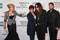 Kelly Osbourne, Sharon Osbourne,  Ozzy Osbourne and Jack Osborne Stock Photos