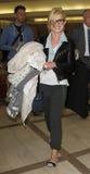 Kelly Osbourne wird an LOCKEREM gesehen lizenzfreies stockfoto