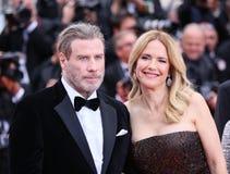 Kelly Preston and John Travolta Royalty Free Stock Photo