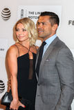 Kelly Ripa and actor Mark Consuelos Stock Images