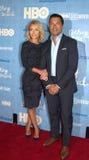 Kelly Ripa and Husband Mark Consuelos Stock Photos