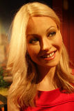 Kelly Ripa Wax Figure Royaltyfria Foton