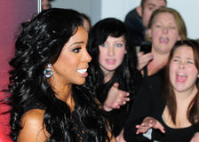 Kelly Rowland Royalty Free Stock Photography