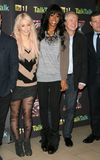 Kelly Rowland, Amelia Lily, Louis Walsh Stock Photography