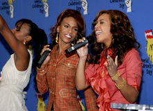Kelly Rowland, Michelle Williams and Beyonce Knowles Stock Photography