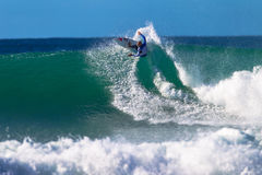 Kelly Slater Jeffreys Bay Surfing Royalty Free Stock Image