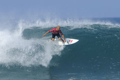 Kelly slater tube Stock Photography