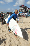 Kelly Slater(USA) in Rip Curl Pro Portugal Royalty Free Stock Images