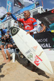 Kelly Slater(USA) in Rip Curl Pro Portugal Stock Photos