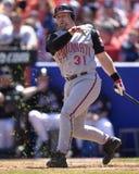 Kelly Stinnett, attrapeur, Cincinnati Reds Image libre de droits