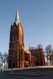Kelme church Royalty Free Stock Image