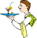 kelner Obrazy Stock