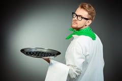 Kelnera mężczyzna Zdjęcia Royalty Free