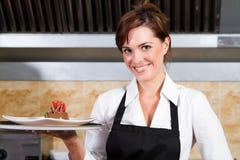 kelnerka Obraz Stock