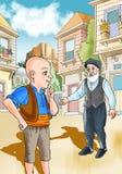 KeloÄŸlan turk Masalli vektor illustrationer