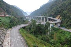 Kelok 9. Travelling to Kelok 9 - West Sumatera, Indonesia Stock Photo