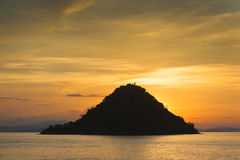 Kelor Island Sunset Stock Photos