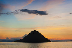Kelor wyspy zmierzch Obraz Stock